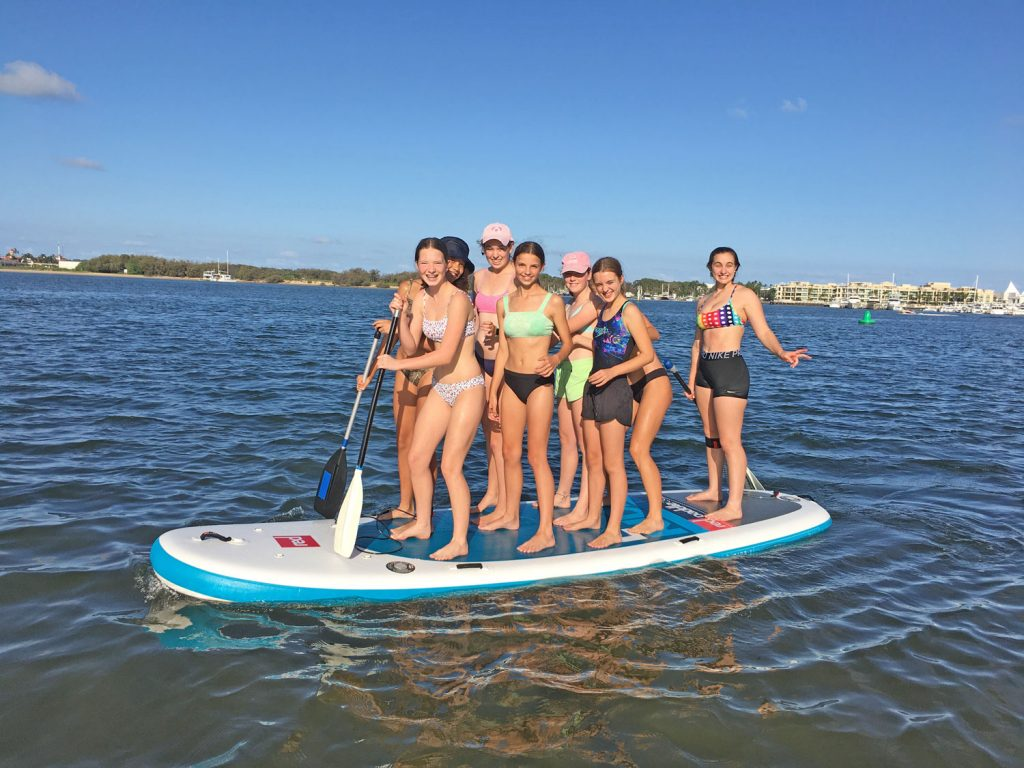 Go Vertical large Stand Up Paddle Board