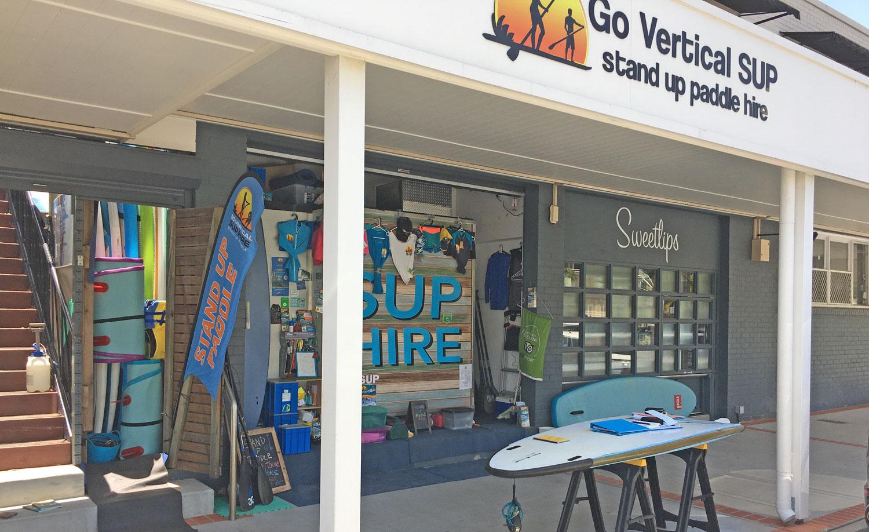 Go Vertical Surfers Paradise Shop Front